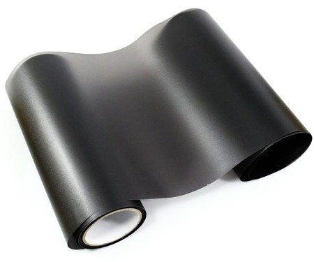 Folia do lamp rolka 0,3x30m - czarna matowa