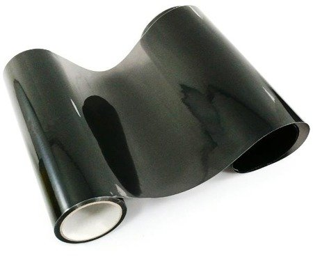 Folia do lamp rolka 0,3x9m - jasno czarna