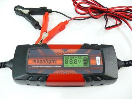 Ładowarka / prostownik cyfrowy Moonlight v4.2 6V/12V 1.2-120Ah