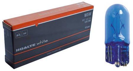 Żarówki Hoalte Super White W5W 12V 5W T10, opak.10szt