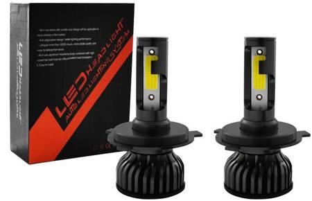 Zestaw żarówek H4 LED 6000K seria V5